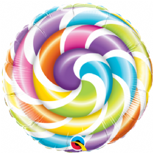 "Lollipop Foil Balloon (9"" Air-Fill) 1pc"